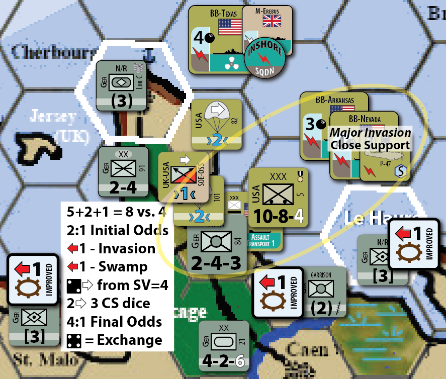 Combat Sequence in Seas of Thunder | Inside GMT blog